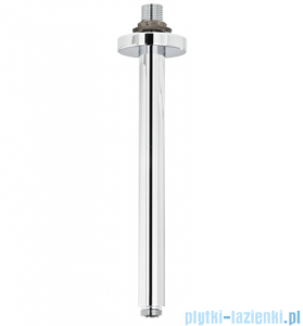 Omnires ramię sufitowe deszczownicy L=240mm chrom RS22