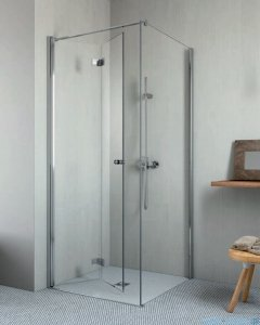 Radaway Essenza New KDJ-B kabina prysznicowa 90x80 lewa przejrzyste 385082-01-01L/384051-01-01