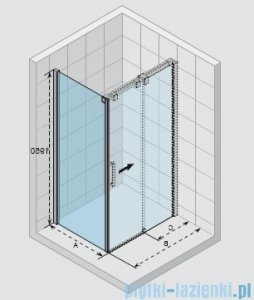 Riho Ocean ścianka boczna lewa 100x195cm GU0304101
