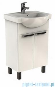 Koło Freja zestaw meblowy 55 cm biały połysk L79004