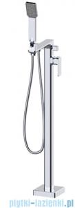 Omnires Apure bateria wannowa wolnostojąca kompletna na pojedynczej nodze chrom AP2233