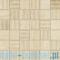 Mozaika podłogowa Tubądzin Travertine 2A 29,8x29,8