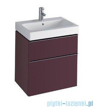 Keramag Icon Szafka wisząca pod umywalkowa 59,5cm burgund połysk 840361