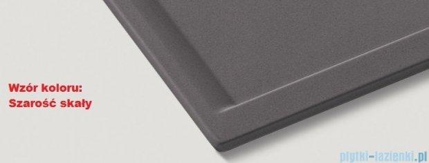 Blanco Zenar 45 S  Zlewozmywak Silgranit PuraDur komora prawa kolor: szarość skały z kor. aut. i jesionową deską do krojenia 519211