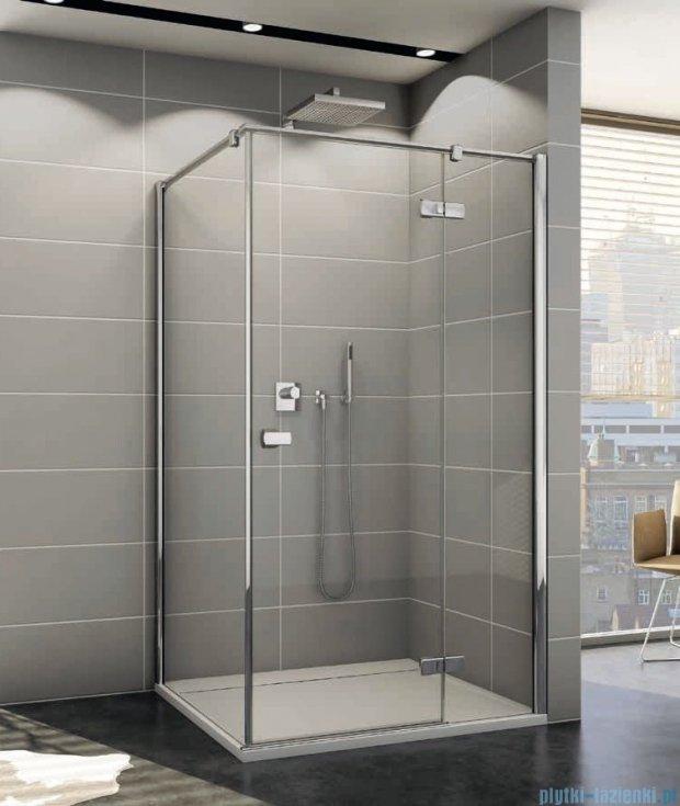 Sanswiss Melia ME13P Kabina prysznicowa prawa 100x100cm przejrzyste ME13PD1001007/MET1PG1001007