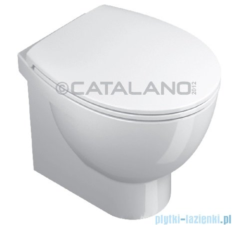 Catalano New Light miska Wc stojąca 50x37 cm biała 1VPLI00