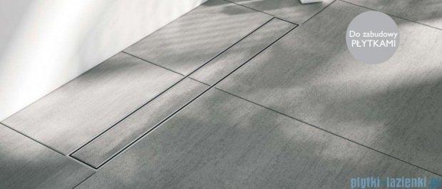 Schedpol odpływ liniowy do zabudowania płytkami Plate 80x8x9,5cm OLP80/ST