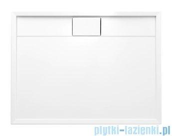 Schedpol Lapis brodzik prostokątny z klapką odpływu 100x80x5cm 3.4224