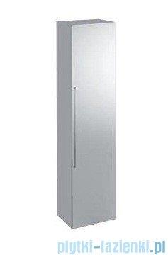 Keramag Icon Szafka wisząca boczna wysoka z lustrem 150cm biały połysk 840150