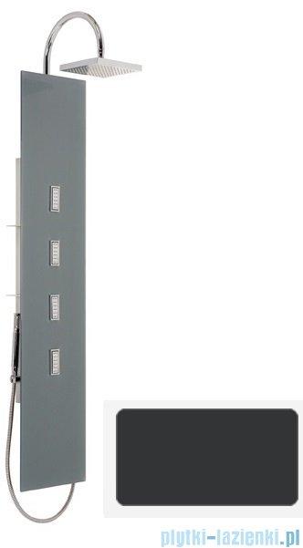 Sanplast Space Line panel prysznicowy PP/SPACE-150 31x150 cm czarny 631-100-0030-43-000