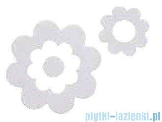 Sealskin Naklejki antypoślizgowe Antislip Flora białe 311000210