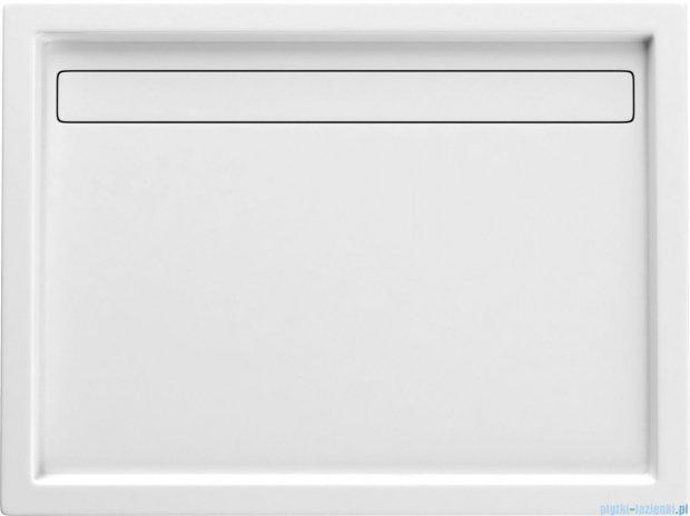 Deante Minimal brodzik prostokątny z odpływem liniowym 90x120 cm biały KTM 043B