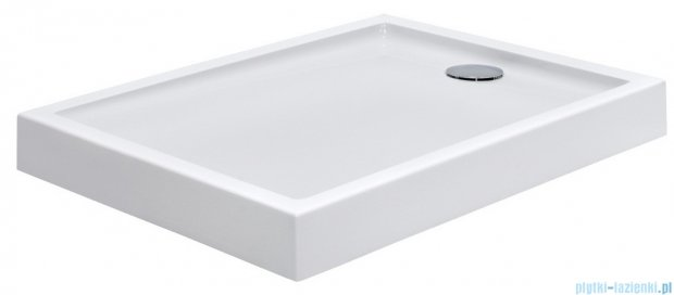 Roca Granada Brodzik Prostokątny 100x80x13,5cm z obudową Biały Akryl A276264000