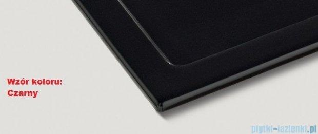 Blanco Subline 350/150-U Komora podwieszana ceramiczna kolor: czarny z kor. aut.  514531