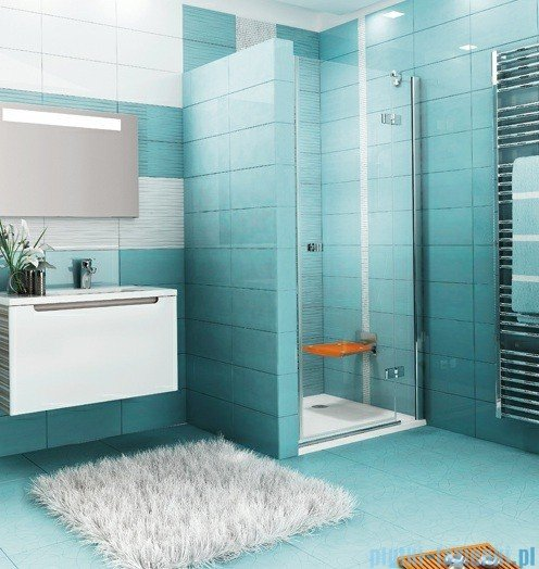 Ravak Drzwi prysznicowe SmartLine SMSD2-100 B prawe chrom+transparent 0SPABA00Z1