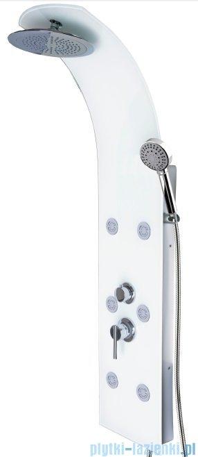 Duschy Iglas panel prysznicowy biały 494-90 F1000