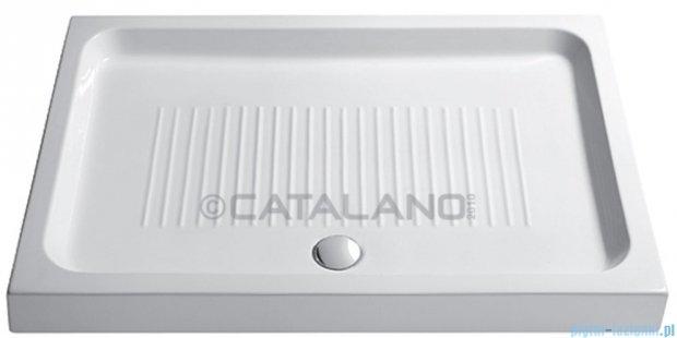 Catalano Base brodzik 120x70x11 cm ceramiczny biały 17012000