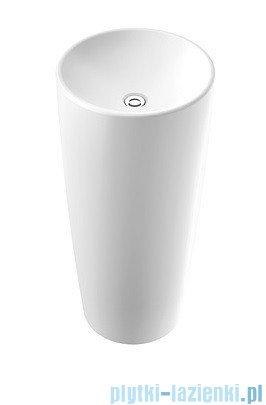 Marmorin Noemi Umywalka stojąca bez otworu biała 560040020010