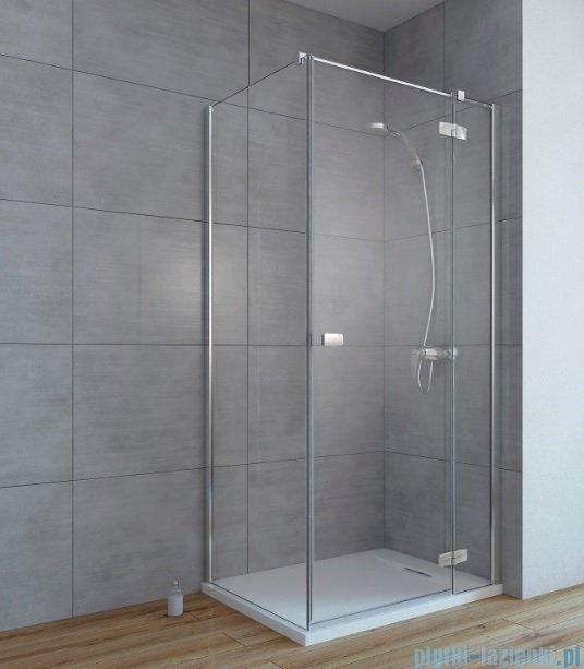 Radaway Fuenta New Kdj kabina 80x100cm prawa szkło przejrzyste 384043-01-01R/384052-01-01