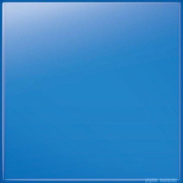 Tubądzin Pastel niebieski połysk płytka ścienna 20x20