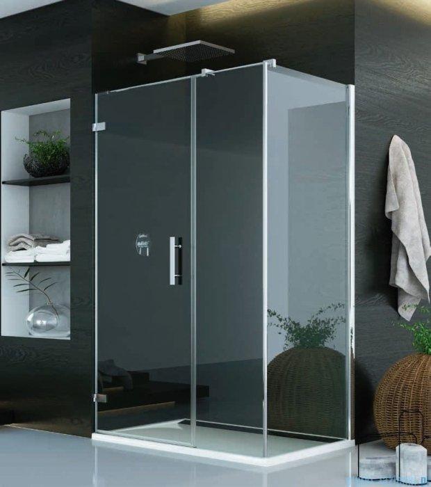 SanSwiss Pur PU31 Kabina prysznicowa 120x70cm lewa szkło przejrzyste PU31PG1201007/PUDT3P0701007