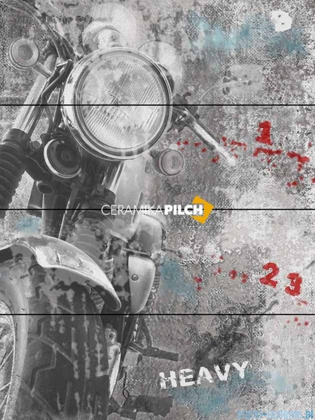 Pilch City 6 dekor ścienny 4-elementowy 80x60