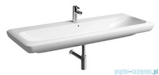 Koło Life! umywalka 130cm z otworem na baterie biała M21130