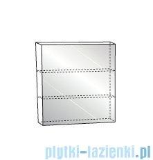 Antado Variete Szafka z lustrem 60x15x75 szary połysk FM-116CH-K917