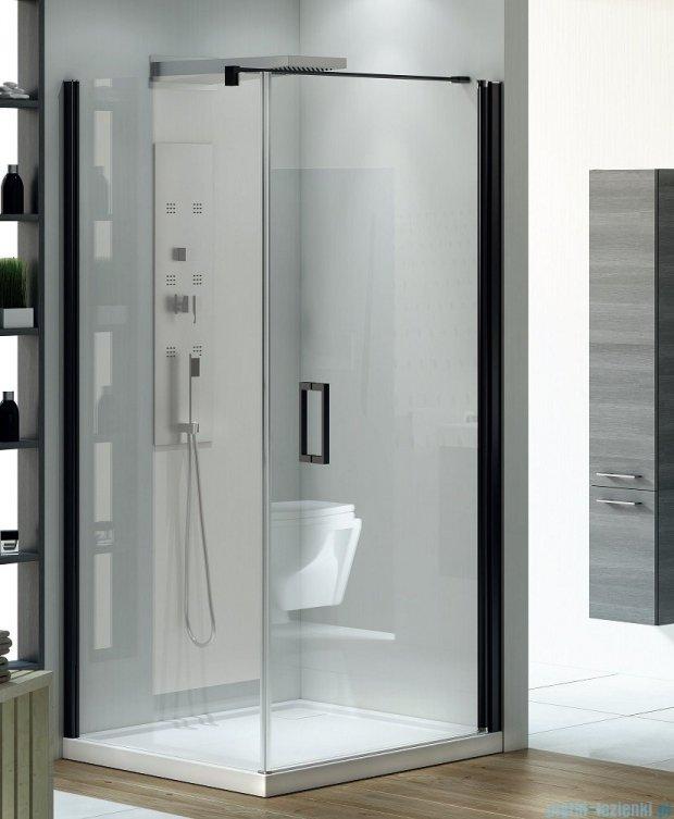 New Trendy Negra kabina prysznicowa 90x80cm przejrzyste EXK-1128/EXK-1194