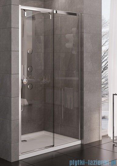 New Trendy drzwi prysznicowe Porta 140x200cm prawe szkło przejrzyste EXK-1138