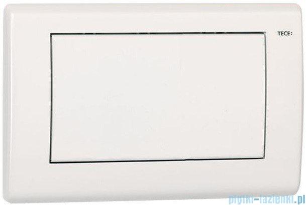 Tece Przycisk spłukujący do WC Teceplanus biały matowy 9.240.312