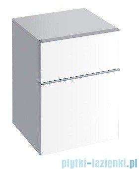 Keramag Icon Szafka wisząca boczna niska 45cm biały połysk 840045