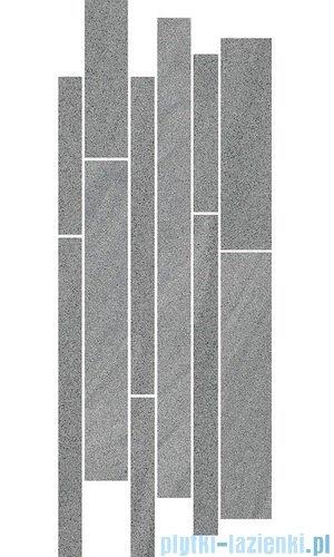 Paradyż Arkesia grigio mix paski listwa 20x52