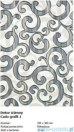 Domino D-Cado grafit 1 25x36
