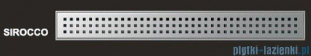 Wiper Odpływ liniowy Premium Sirocco 60cm z kołnierzem szlif S600SPS100