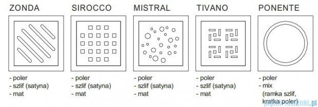 Wiper Premium Mistral Wpust Punktowy 12x12 cm Mat WP120P_MistralMat