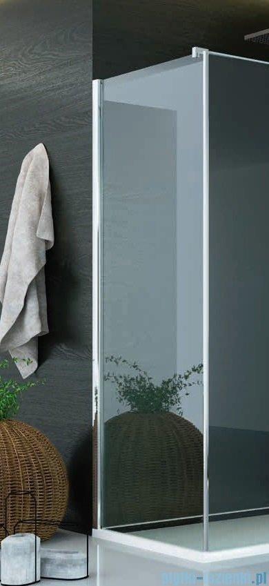 SanSwiss Pur PUDT3P Ścianka boczna 70x200cm cieniowane czarne PUDT3P0701055