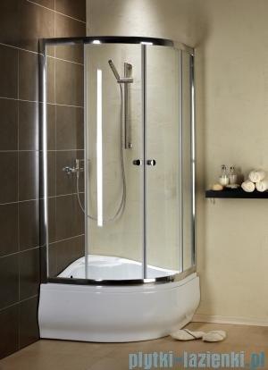 Radaway Premium A Kabina półokrągła 90x90x170 szkło grafitowe 30401-01-05