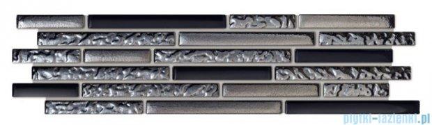 Tubądzin Abisso listwa ścienna mozaikowa 9,8x37,2