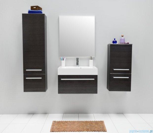 Antado Spektra szafka z umywalką, wisząca 70x50x33 grafit połysk FDF-442/7GT-46 + UNA-700