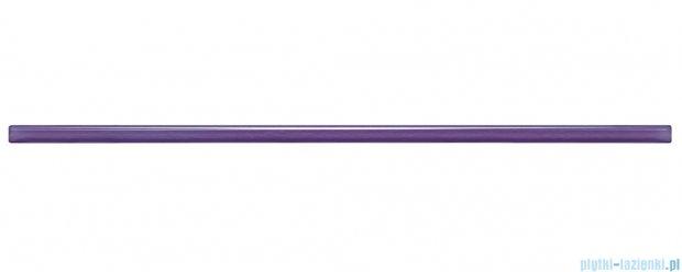 Listwa ścienna szklana Tubądzin Colour Violet 3 1,5x59,3