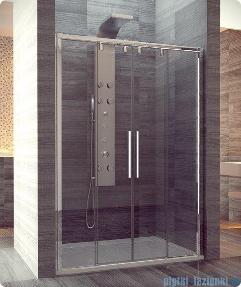SanSwiss Pur Light S PLS4 Drzwi rozsuwane 170 profil połysk szkło przejrzyste PLS41705007