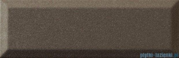 Tubądzin Elementary bar brown płytka ścienna 7,8x23,7