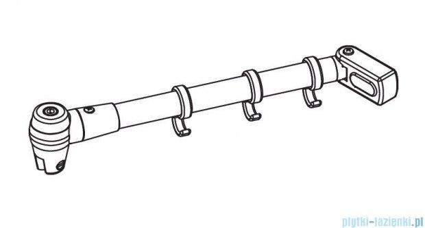 Kermi Atea Stabilizator uniwersalny biały 70cm ZDSSVSSAT0702K