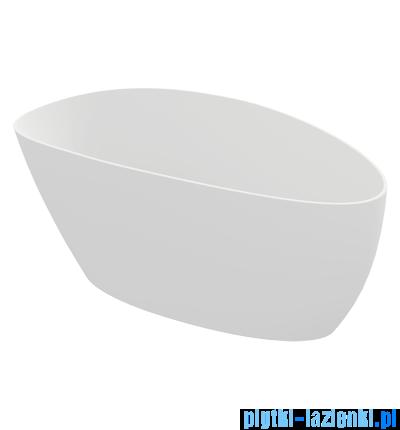 Omnires Barcelona wanna 170x75cm wolnostojąca biały mat Marble+BarcelonaXLBM