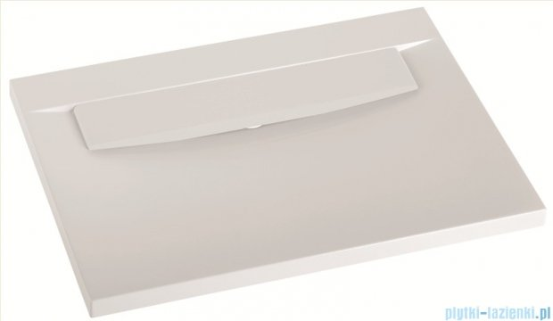 Marmorin umywalka nablatowa Tatoo z otworem 70,5cm biała 111071020011