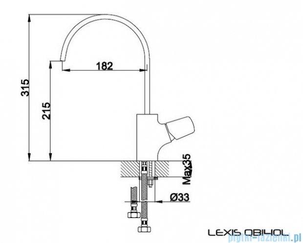 Kohlman Lexis bateria kuchenna QB140L