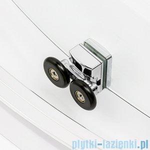 New Trendy New Praktic kabina półokrągła 90x90x190cm grafit K-0303