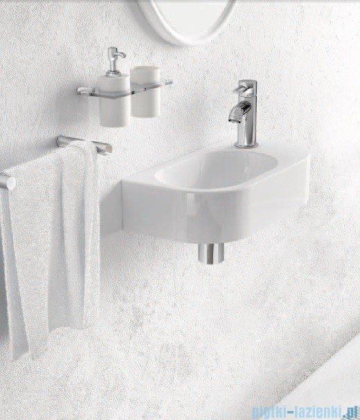 Marmorin umywalka nablatowa Elara 2 z otworem 40cm biała 400040020011