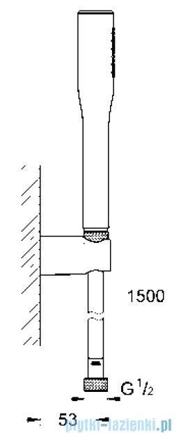 Grohe Euphoria Cosmoplitan zestaw prysznica ręcznego DN 15  27369000